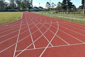 La pista del polideportivo recibirá a más de 800 atletas de todo el país