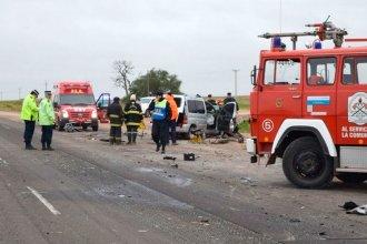 Ruta 18: Identificaron a las víctimas del accidente fatal de la mañana