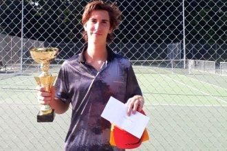 Imparable: Delcanto conquistó su cuarto torneo profesional en Francia