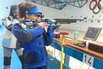 Joven entrerriana, campeona nacional en el torneo de rifle de aire