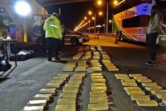 Hallaron un Audi con más de 377 kilos de marihuana