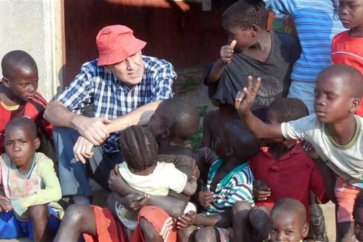 El entrerriano en Angola