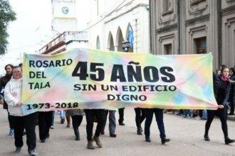 """Escuela entrerriana """"celebra"""" los 45 años sin edificio propio"""