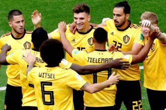Rusia 2018: Bélgica, el primer equipo en tener un lugar en el podio