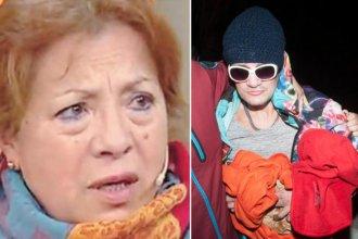 La madre de Pity Álvarez le pidió perdón a la familia del hombre que asesinó