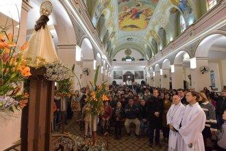 Con la presencia del Gobernador, Nogoyá rindió homenaje a la Virgen del Carmen