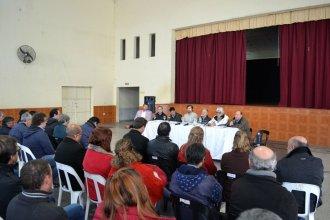 """""""Para fortalecer el desarrollo local"""", el ministro Benedetto fue a La Criolla"""