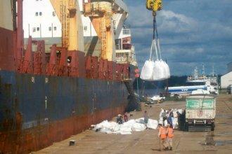 Arribará un nuevo buque a La Histórica para llevar arroz entrerriano a Irak