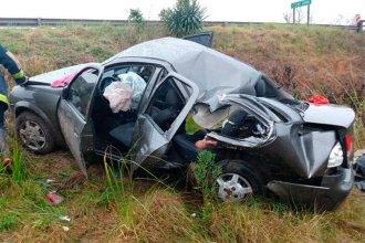 Una mujer y una niña fallecieron, tras un accidente en ruta 12