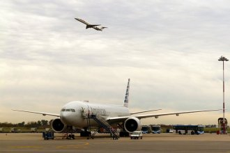 El avión de Christine Lagarde se quedó sin combustible al pasar por el sur de Entre Ríos