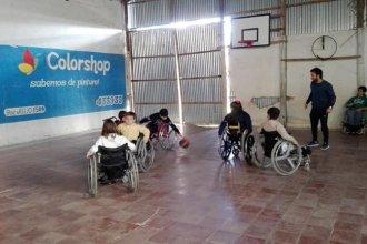 Ellos sueñan con tener sillas deportivas para jugar y llevan ese anhelo al Bailando