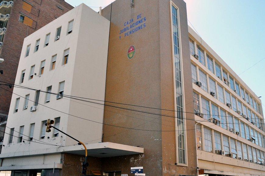 La sede de la Caja de Jubilaciones de ER