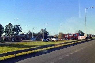 Madereros confirman que volverán a protestar en la autovía de la ruta 14