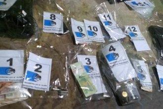 Desarticularon kiosco de droga y tres personas quedaron detenidas