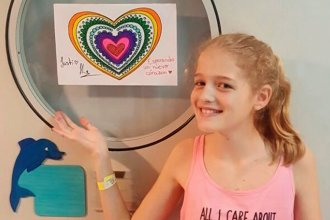 Distinguirán a la mamá de Justina por su aporte a la Ley de trasplantes