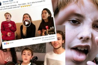 Furor en las redes sociales: Marcelo Tinelli elogió la voz de un entrerriano de sólo 11 años