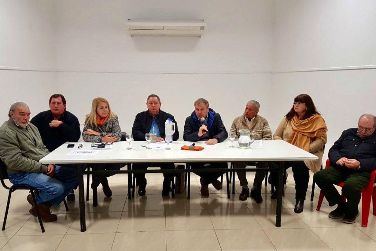 Galimberti, el primero en hablar hoy en Villaguay.