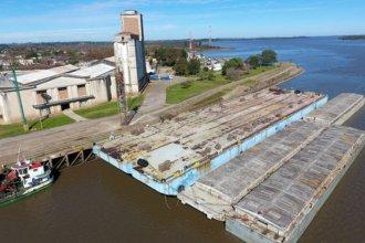 """Puerto del río Uruguay tiene """"una gran oferta de mercadería para transportar"""""""