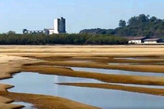 El agua sigue bajando y genera inconvenientes en la costa entrerriana