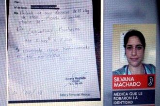 Bajo su nombre, firmaban certificados y recetaban medicación
