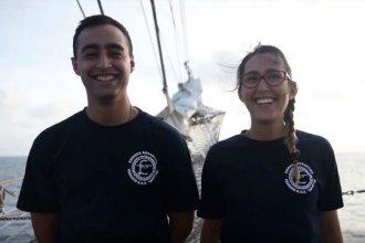 Desde altamar, hermanos entrerrianos relatan su vivencia a bordo de la Fragata Libertad