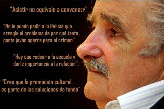 Mujica y sus definiciones sobre el asistencialismo, la inseguridad y la educación