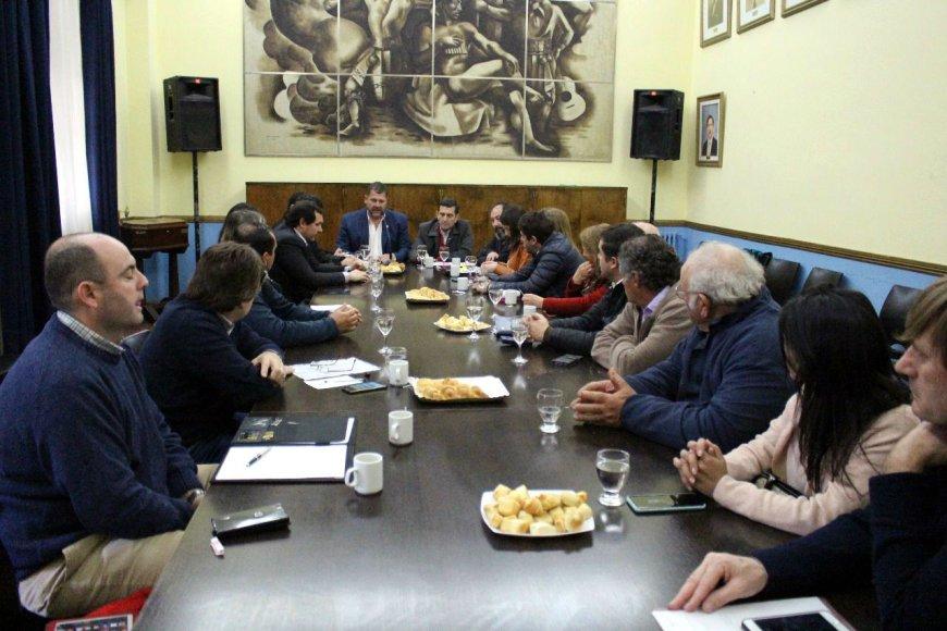 Ayer fue la reunión, en municipio de Concordia.