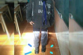 Un pequeño gesto solidario sorprendió a un alumno entrerriano
