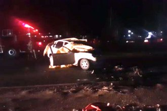 Una mujer falleció tras un choque frontal en ruta entrerriana