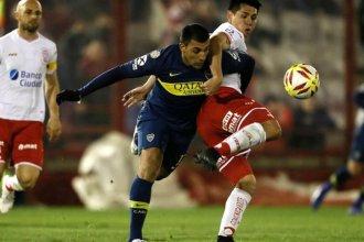 Boca no pudo con Huracán y sigue alejándose del puntero
