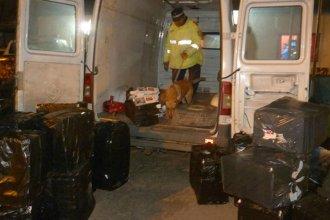 Trasladaba 15 mil kilos de cigarrillos paraguayos de contrabando