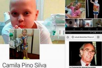 Creó un perfil falso con la foto de la pequeña Anto para estafar a la gente