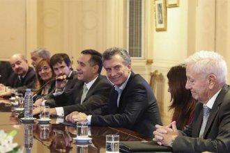 """Macri recibió a los rectores de universidades y dijo que el techo del 15% """"ya no existe"""""""