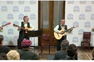 Músicos entrerrianos fueron reconocidos por el Senado de la Nación