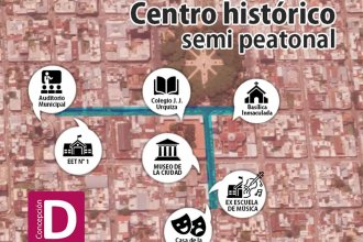 Concepción quiere peatonalizar el centro histórico