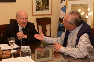 Lauritto y el rector de la UCU llegaron a un acuerdo con la intendencia de Rosario
