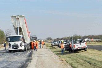 Cartellone frenó los trabajos en Ruta 18: 60 obreros suspendidos
