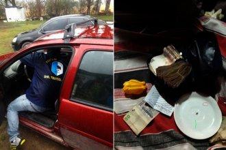 Detuvieron a cinco hombres y secuestraron drogas, autos, dinero y armas
