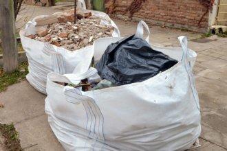 Será obligatorio usar contenedores para materiales de construcción