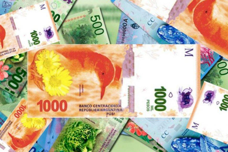 El billete de mil, falsificado en Chajarí.