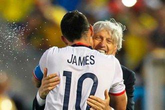 """""""Serás siempre mi mejor maestro"""", la sentida despedida de James a Pekerman"""