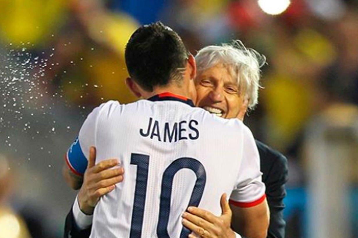 Una de las fotos que compartió el futbolista.