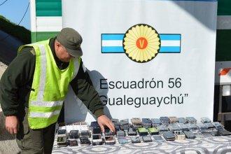 Fue detenido por Gendarmería cuando trasladaba 200 celulares ilegales