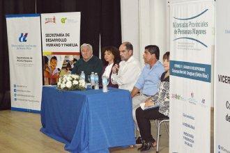 Comenzó la Jornada Provincial de Adultos Mayores