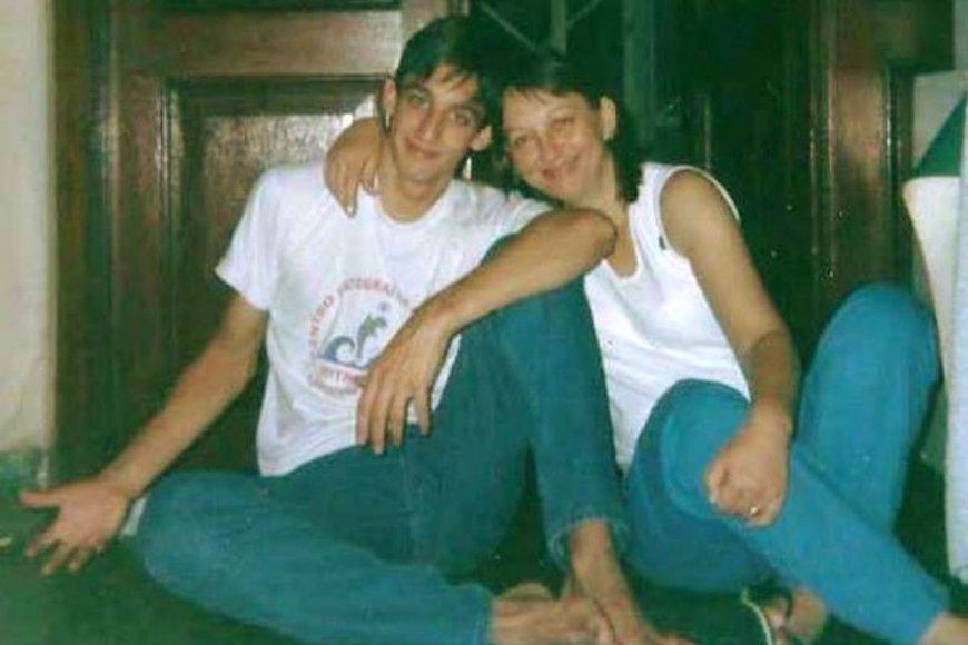 Otros años: Mariquita con su hijo Francisco.