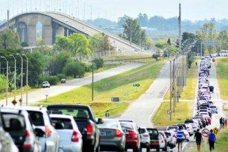 En 3 días, 10 mil uruguayos cruzaron a comprar en Concordia, Colón y Gualeguaychú