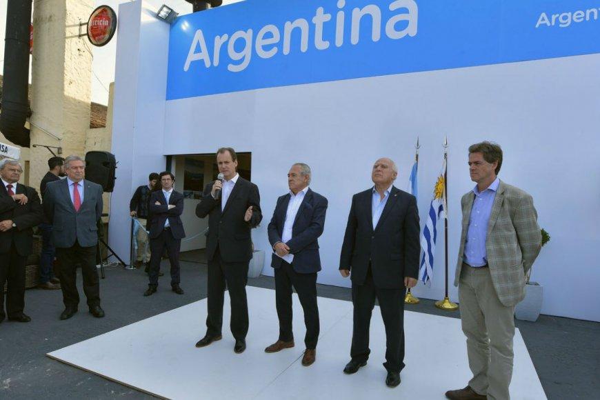 Bordet, esta semana en Expo Prado de Montevideo.