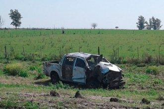 Un joven perdió la vida al volcar sobre la Ruta 18