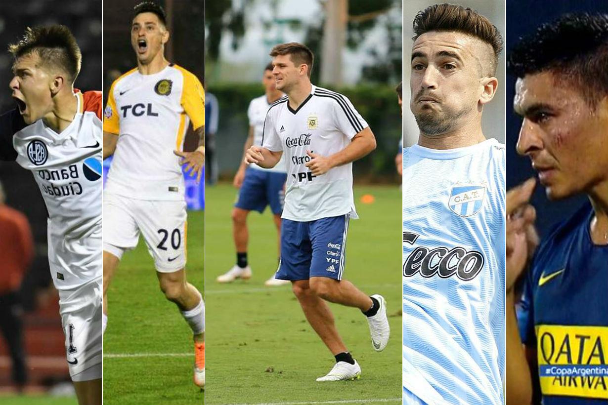 5 entrerrianos, protagonistas en amistoso y Copa.