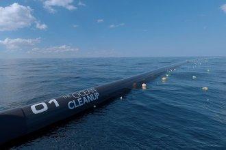 Una salida posible para el plástico oceánico